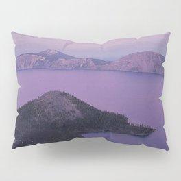 Crater Lake Sunset Pillow Sham