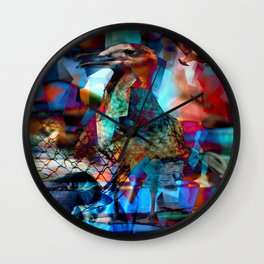 seagull monkfish Wall Clock