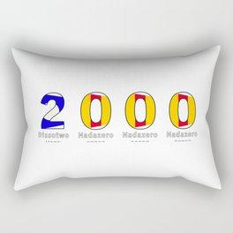 2000 - NAVY - My Year of Birth Rectangular Pillow
