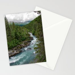 Alaska River Canyon - II Stationery Cards