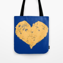 Feel in Watercolour: Navy/Gold Tote Bag