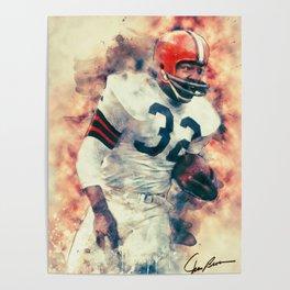 Jim Brown Poster