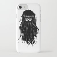 france iPhone & iPod Cases featuring It Girl by Ruben Ireland