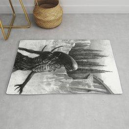 Alien - Xenomorph Rug