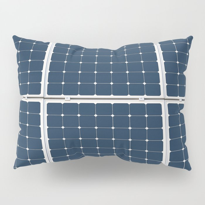Image Of A Solar Power Panel. Free Clean Energy For Everyone Pillow Sham
