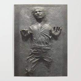 Han Solo Frozen in Carbonite Poster
