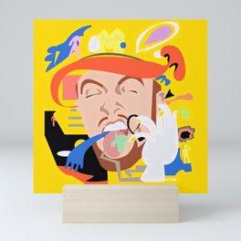 MAC MILLER---Face Art Mini Art Print