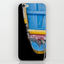 Shikara - Water Taxi, Dal Lake, India iPhone Skin
