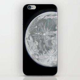 Moon Portrait 2 iPhone Skin