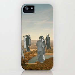 Hands Touching Hands iPhone Case