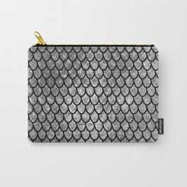 Mermaid Scales - Silver Carry-All Pouch
