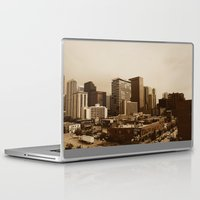 denver Laptop & iPad Skins featuring Old Denver by Joseph Lee Photography