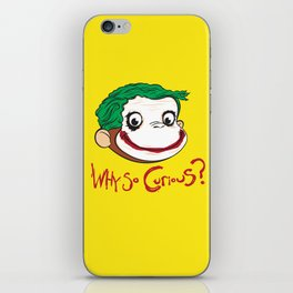 Why So Curious? iPhone Skin