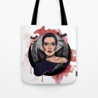 vampire Tote Bags featuring Vampire by Yasin IŞIK