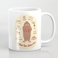 Bigfoot Eats Gluten Free Mug