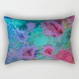 Flowers abstract #2 Rectangular Pillow