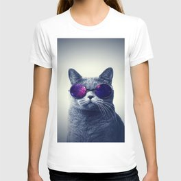 Hippie Cat T-shirt