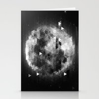 luna Stationery Cards featuring Luna by Elvijs Pūce