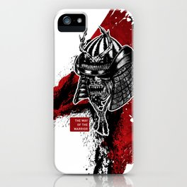 The Way Of The Warrior - Kabuto iPhone Case
