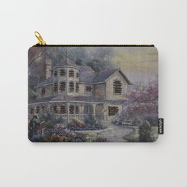 Altered Painting -Welcome Home Dresden Carry-All Pouch