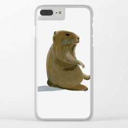 A Third Marmot Alive Clear iPhone Case