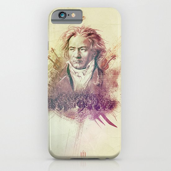 Beethoven iPhone & iPod Case