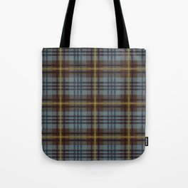 Faded Johnstone Scottish Tartan Tote Bag