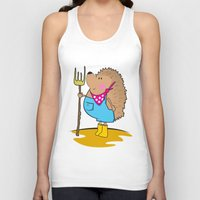 farm Tank Tops featuring Farm life by mangulica