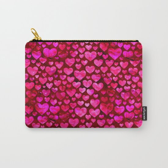 Heart Pattern 01 Carry-All Pouch