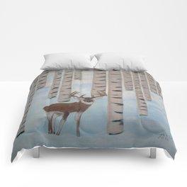 Winter Birch Comforters