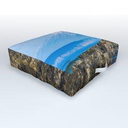 Proud sea lion Outdoor Floor Cushion