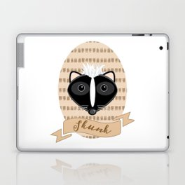 Mademoiselle Skunk Laptop & iPad Skin