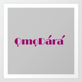OD 1 Art Print