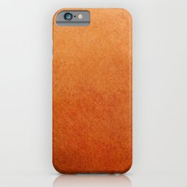 Brown Textured Ombre Abstract iPhone Case