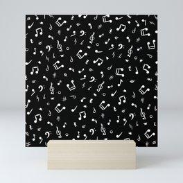 Music Notes and Symbols  Mini Art Print