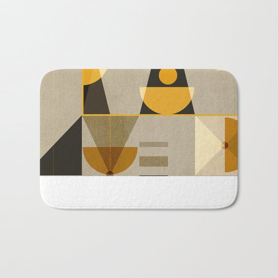 Geometric/Abstract 8 Bath Mat