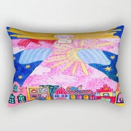 THE GUARDIAN ANGEL Rectangular Pillow