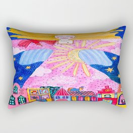 THE GUARDIAN ANGEL Rectangular Pillow
