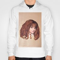 hermione Hoodies featuring Hermione by Shannon Forringer