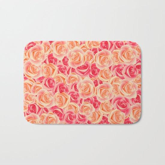 Rose Garden Bath Mat