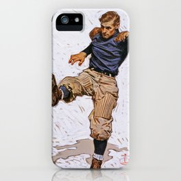 Punter - Digital Remastered Edition iPhone Case