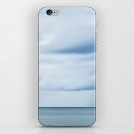 Sea, Lighthouse & Stormy clouds iPhone Skin