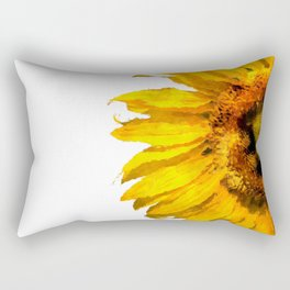 Simply a sunflower Rectangular Pillow