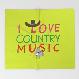 country music Throw Blanket