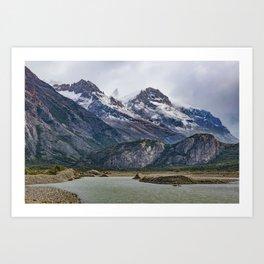 Parque Nacional los Glaciares - Patagonia - Argentina Art Print