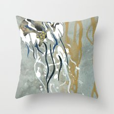 Jellyfish Voyage Throw Pillow