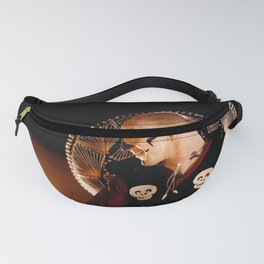 Mariachi Fire Dance - Day of the Dead Fanny Pack