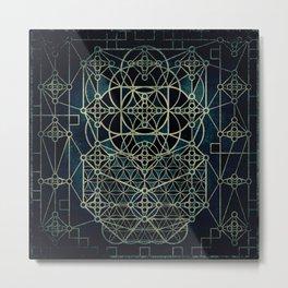 Quantum Conexion Metal Print