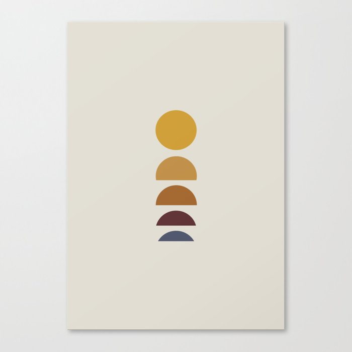 Minimal Sunrise / Sunset Canvas Print
