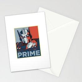 Optimus Prime Stationery Cards
